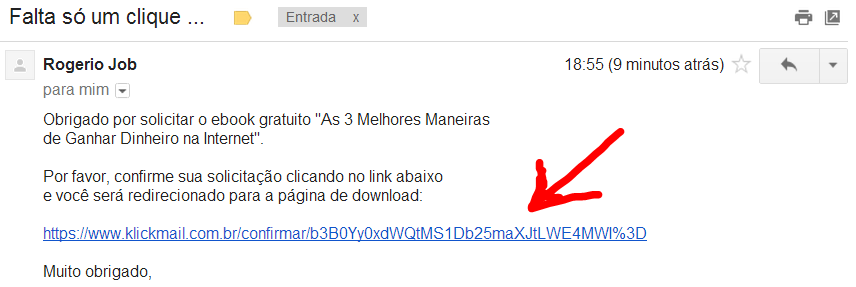 confirmar email